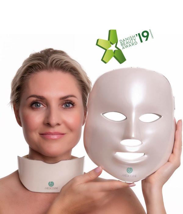 SÆT - SKINLIGHT Lysterapimaske & Halskrave